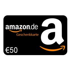 3. Preis: 50-EUR-Gutschein für Amazon